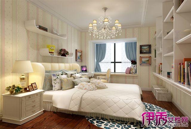 【卧室欧式装修效果图】【图】赏析卧室欧式装修效果