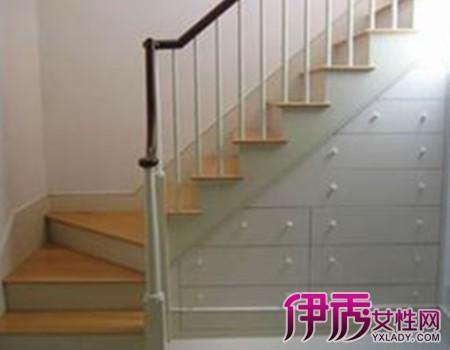 【图】别墅阁楼小楼梯装修效果图-阁楼衣帽间装修效果图