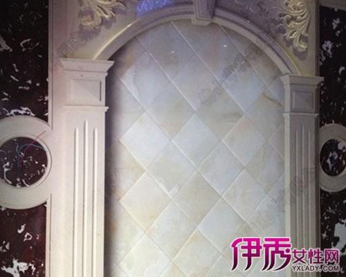 【图】罗马柱背景墙效果图展示 简单石膏电视墙介绍