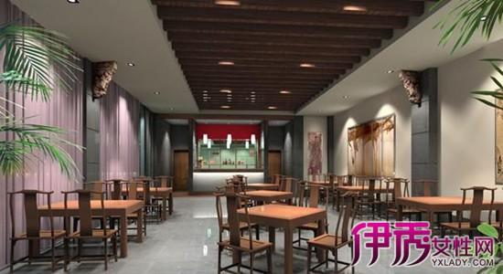 【图】小型饭店装修效果图 三款效果图供你选择