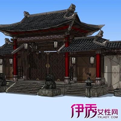 【图】围墙大门柱子效果图图片分享