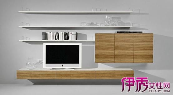 【图】房间电视柜吊柜效果图展示