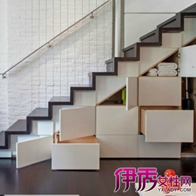 【楼梯下面柜子造型图片】【图】楼梯下面柜子造型