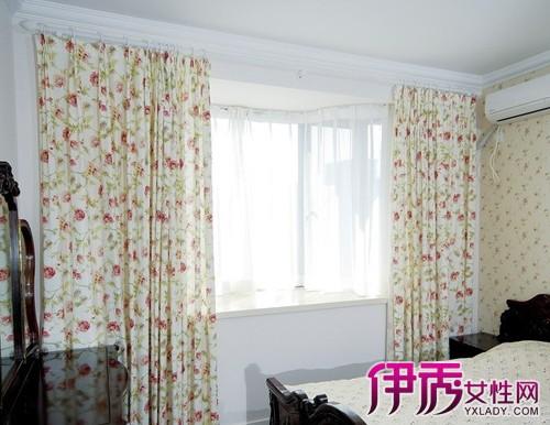 【图】卧室飘窗窗帘图片欣赏