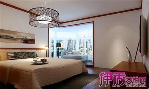 卧室床头石膏线装修图展示