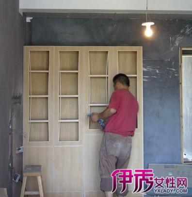 【木工现场制作衣柜】【图】告诉你木工现场制作衣