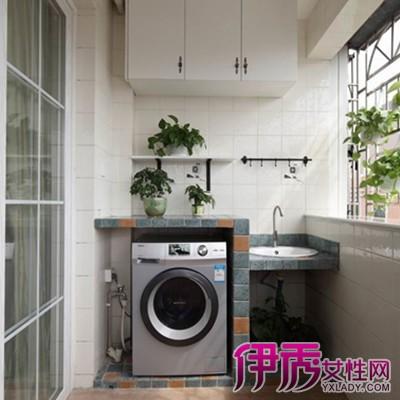 【图】阳台洗衣池装修效果图片欣赏 两大建议教你如何装修