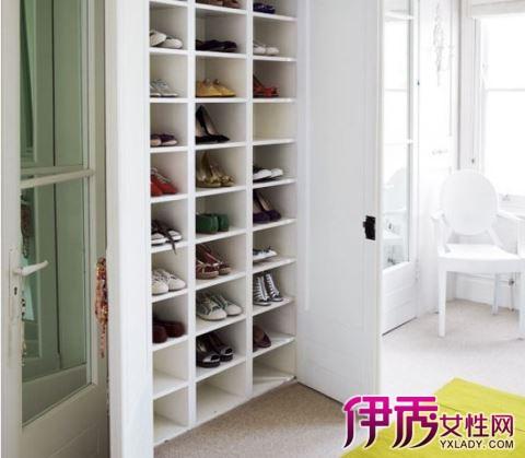 三角鞋柜设计图片