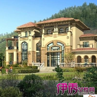 【图】别墅外观效果图片大全 别墅建筑5大形式介绍