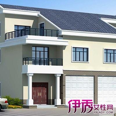 【图】农村双拼别墅户型图片大全 别墅建筑5大形式介绍