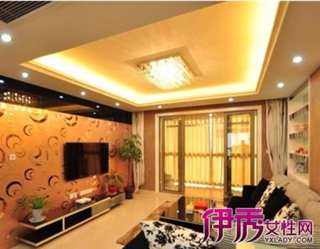 【图】黑镜电视背景墙效果图展示 打造绝美电视背景墙