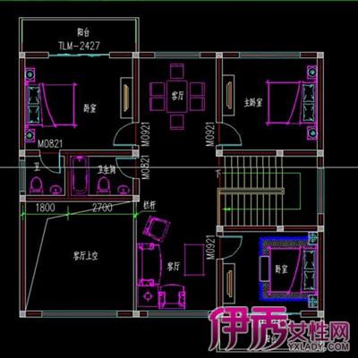 盘点两层农村小型复式楼平面施工图 教你自己建别墅
