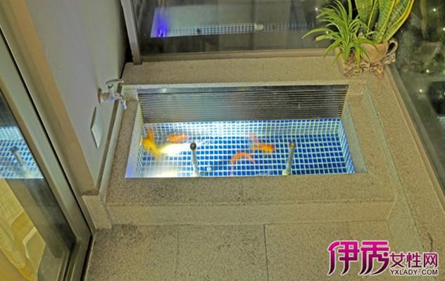 【陽臺小魚池效果圖】【圖】新樣陽臺小魚池效果圖