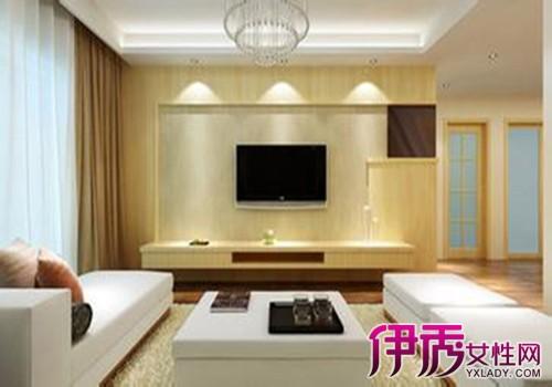 【图】木工客厅电视背景墙分享