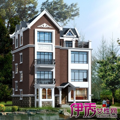 三层半别墅房子设计图展示
