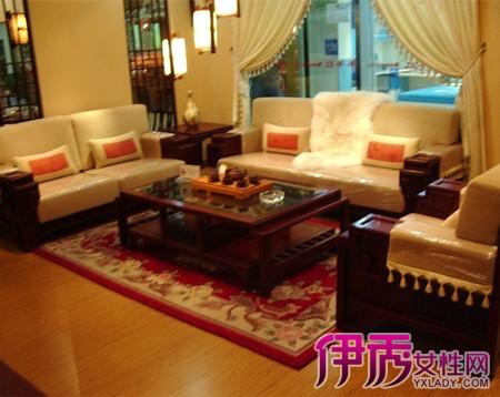 【客厅装修红木沙发实景图大全】【图】客厅装修红木