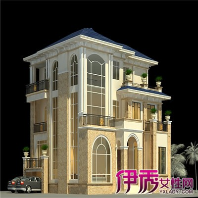 【图】欧式三层半别墅外观设计要求 3大方面教你设计完美别墅