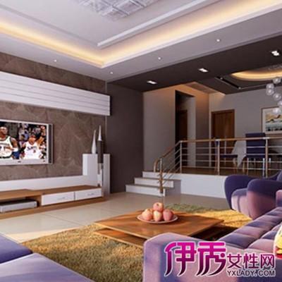 【图】二步错层客厅效果图欣赏 这些装修注意事项必知