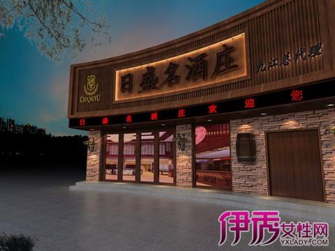 【餐厅门头设计效果图】【图】鉴赏餐厅门头设计效果