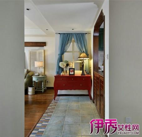 客厅地板瓷砖设计图展示