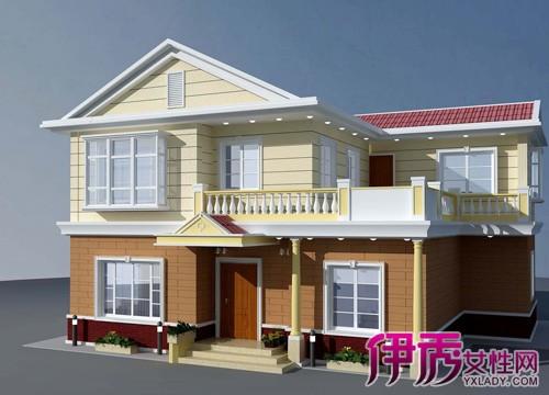 越的农村两层楼房设计图片