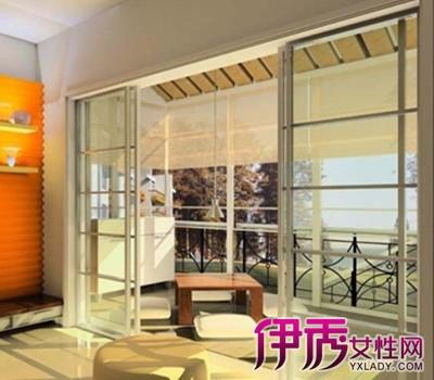 【图】阳台移门装修效果图欣赏 教你如何装修设计玻璃阳台