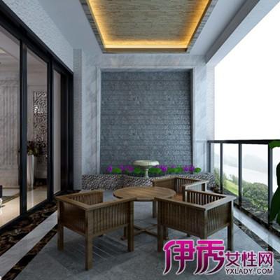 【图】客厅阳台设计效果图欣赏 分享阳台装修设计要素