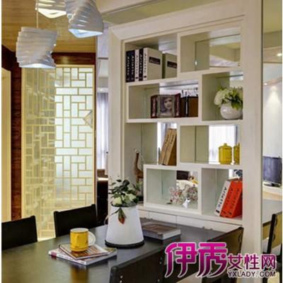 厨房酒柜装修效果图欣赏 美观实用的厨房隔断设计