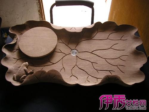 【木雕茶盘】【图】分享木雕茶盘图片