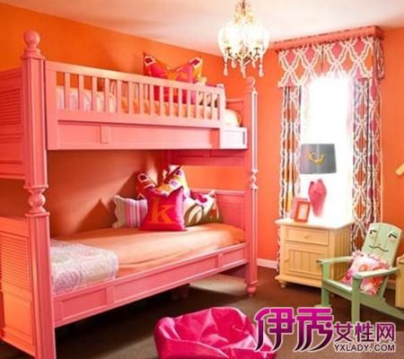 【图】高低床装修效果图欣赏 为孩子打造梦幻乐园