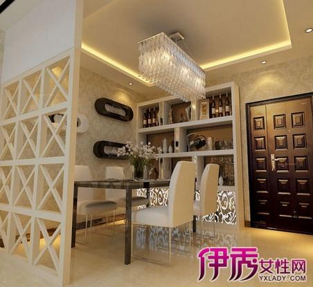 【图】家装木工隔断酒柜图片欣赏 教你如何选购合适的酒柜