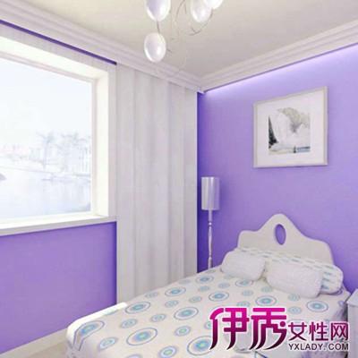 【图】淡紫色卧室装修效果图的原则 2点让你了解淡紫色卧室