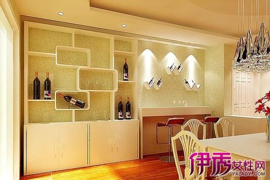 墙壁酒柜设计图片大全展示