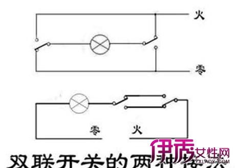 【双控开关接线实物图】【图】双控开关接线实物图