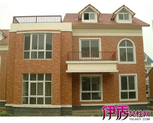 【图】两层半楼房外观效果图 农村两层半各式楼房风格鉴赏