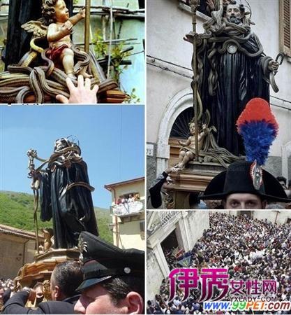 哥酋洛捕蛇人以及雕塑脚下盘踞的蛇美女与野蛇?