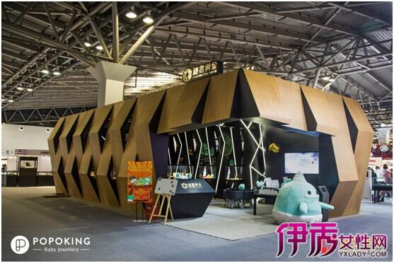 【POPOKING】POPOKING在上海国际黄金展
