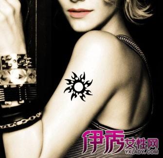 【图】一个类似于太阳的纹身图案 为何更多的人喜欢纹太阳的纹身?