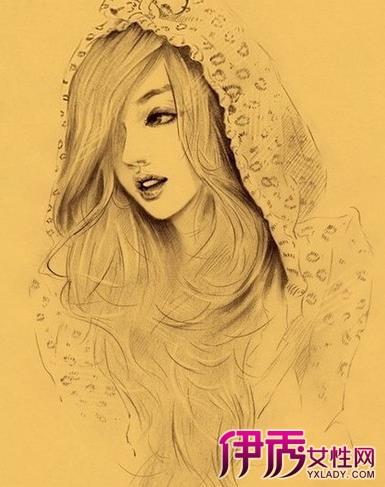 【图】简单素描人物唯美作品汇总 人物素描绘画四步骤-简单素描人物图片