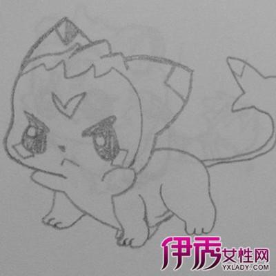 漫画动物素描图片