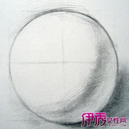 【图】素描球体画法图解摘录 素描的技法种类和作画步骤简单介绍-素图片