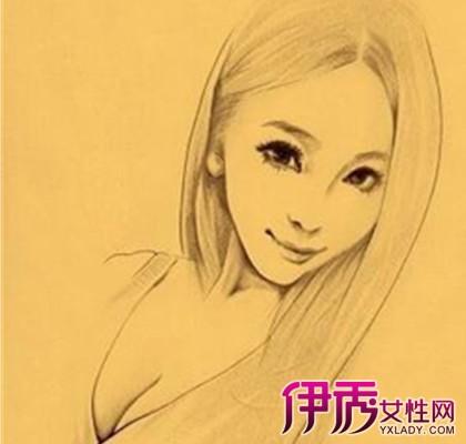 【图】一起欣赏素描头像女生美貌 为你展现不一样的美丽
