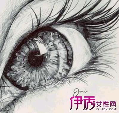 【图】教你素描眼睛的画法 几大步骤轻松学会画画-素描眼睛的画法图片