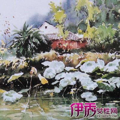 【图】水彩画入门临摹图片欣赏 其基础知识普及-水彩画入门临摹图片