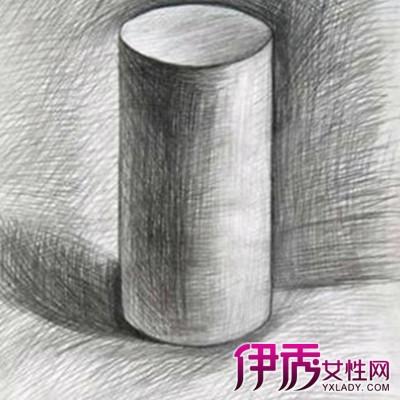 素描圆柱体图片图片