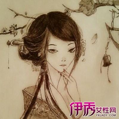 【图】手绘铅笔古风人物图片展示 认识绘画的艺术价值