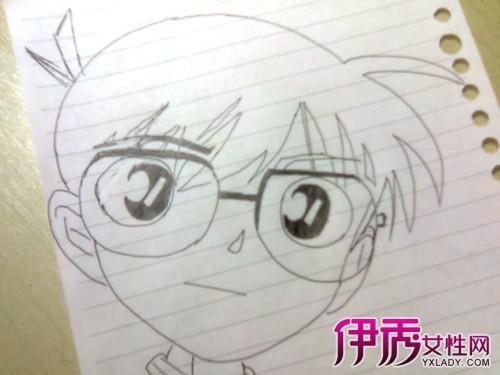 【简单的动漫人物铅笔画】【图】简单的动漫人物铅笔