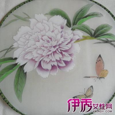 【图】团扇图片手绘作品欣赏 领略团扇的美丽精致