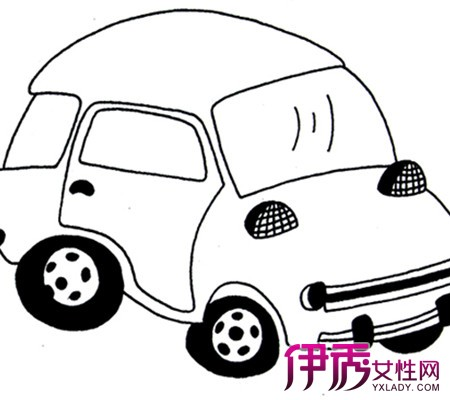 【图】欣赏汽车绘画图片大全