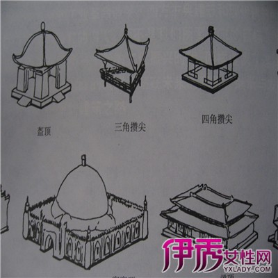 壮族建筑简笔画
